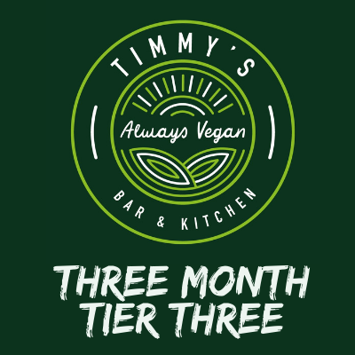 Timmys Subscriptions Three Month Tier Three