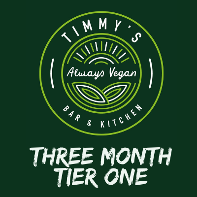 Timmys Subscriptions Three Month Tier One