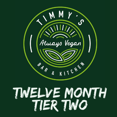 Timmys Subscriptions Twelve Month Tier Two