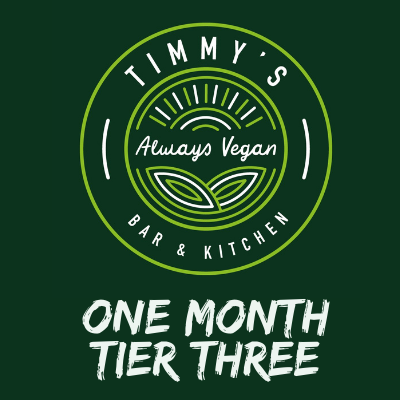 Timmys Subscriptions One Month Tier Three